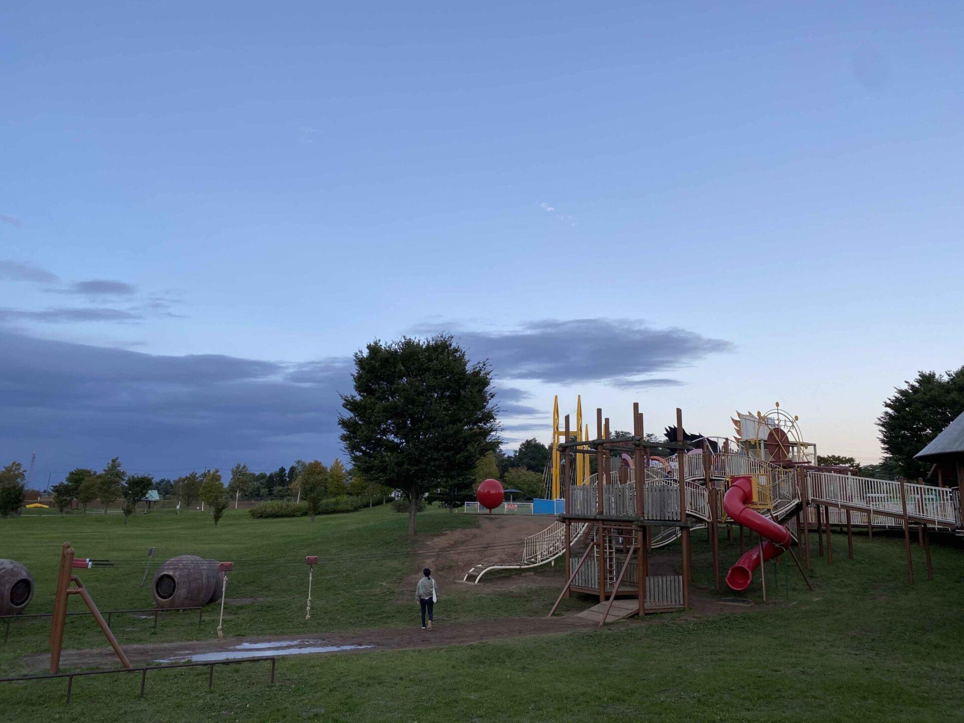 【課外活動】青森市スポーツ公園わくわく広場